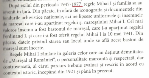 Maresali ai romaniei - 1977 (!)