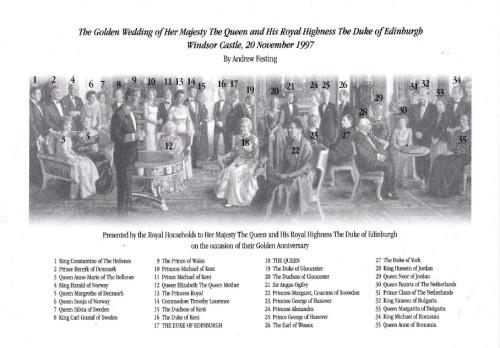 Nunta de aur Casa Britanica descriere