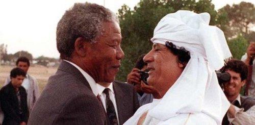 mandela gaddafi
