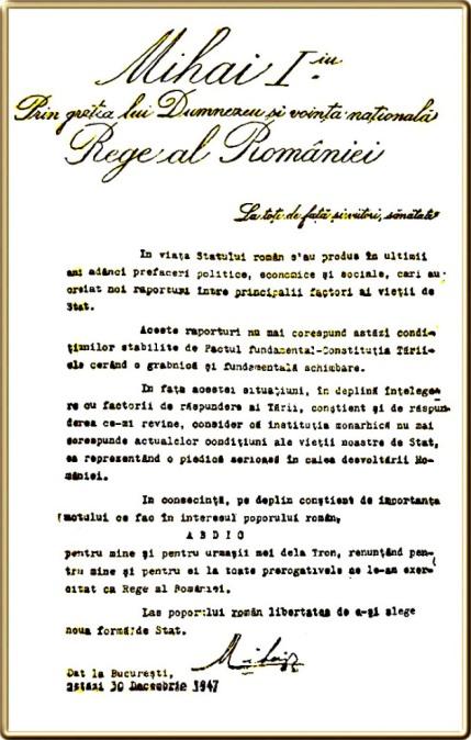 Act-abdicare-1947