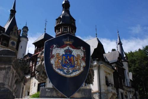 La Castelul Peleş...