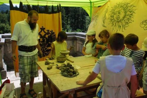 Atelier de olărit (Petru Adam de la Cetatea Alba)
