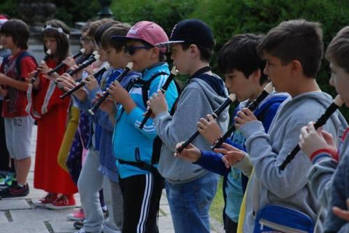 Atelier de flaut baroc (Cătălin Mirea, actor și muzician, membru al trupei de muzică veche Pontice)