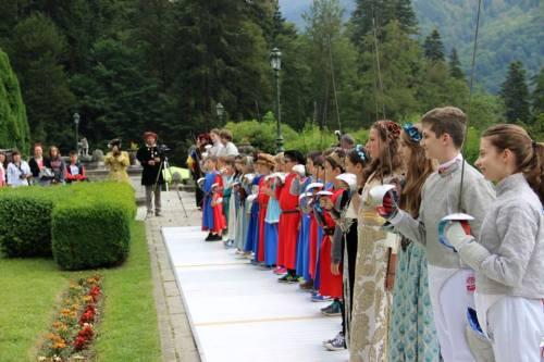 Vineri, 10 iulie, la finalul taberei, copii au fost investiți, în mod simbolic, drept cavaleri și domnițe. Asociaţia Circensium Historiae le-a acordat tuturor diplome.