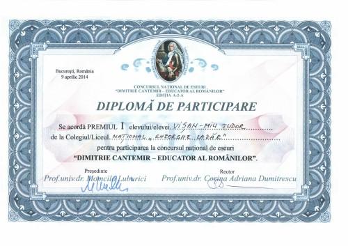 Diplomă Premiu I Dimitrie Cantemir.jpg