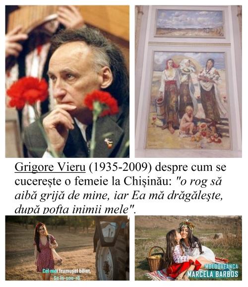 Grigore Vieru și Basarabencele - colaj