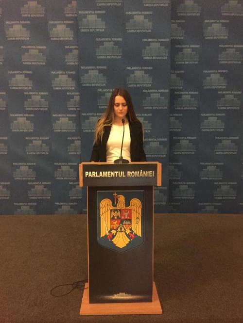 Natalia Țurcan Parlamentul României 2018